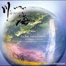 CDs de Música: A RIVER, FLOWING BACK TO THE OCEAN (KAWA, ITSUKA UMI E) / TARO IWASHIRO CD BSO - JAPAN. Lote 87275284