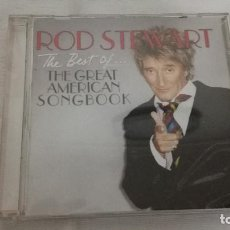 CDs de Música: 7- CD ROD STEWART, THE GREAT AMERICAN SONG BOOK. Lote 87315284
