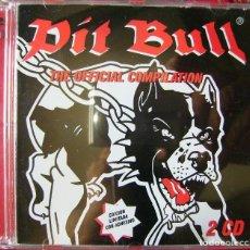 CD de Música: PIT BULL.THE OFFICIAL COMPILATION...DOBLE CD. Lote 87345376