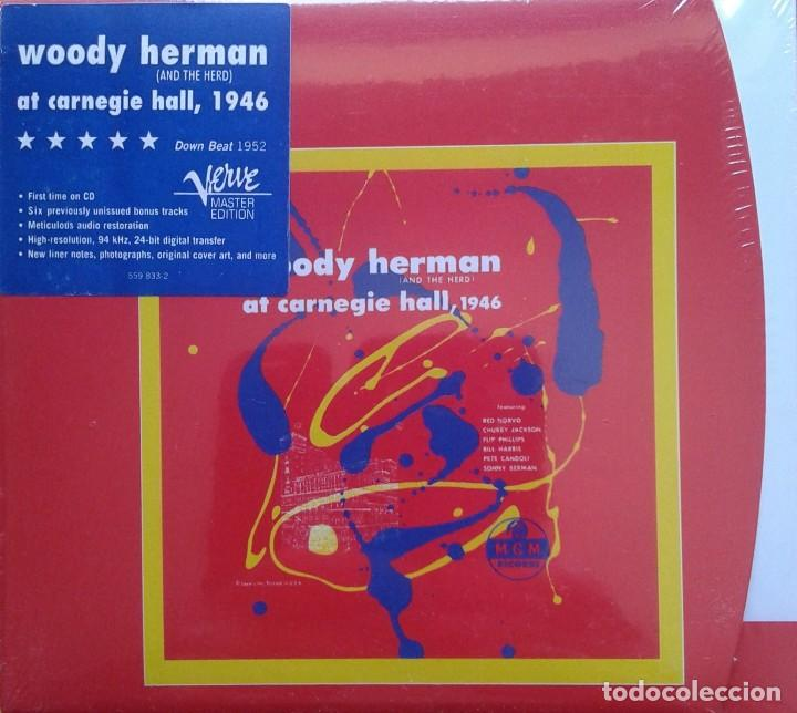 WOODY HERMAN AT CARNEGIE HALL, 1946, 2CD, VERVE (Música - CD's Jazz, Blues, Soul y Gospel)