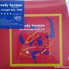 CDs de Música: WOODY HERMAN AT CARNEGIE HALL, 1946, 2CD, VERVE. Lote 87354800