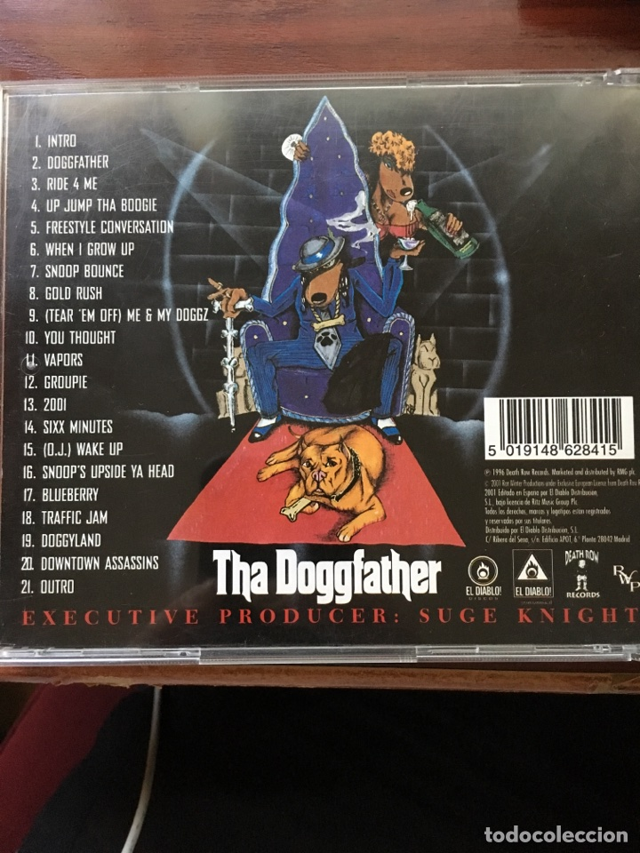 Snoop doggy dogg-the doggfather-1996 - Sold through Direct Sale