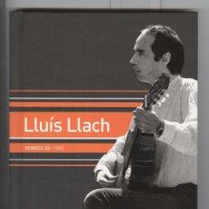 CD de Música: LLUIS LLACH. LLIBRE + CD. VERGES 50. . Lote 87412476