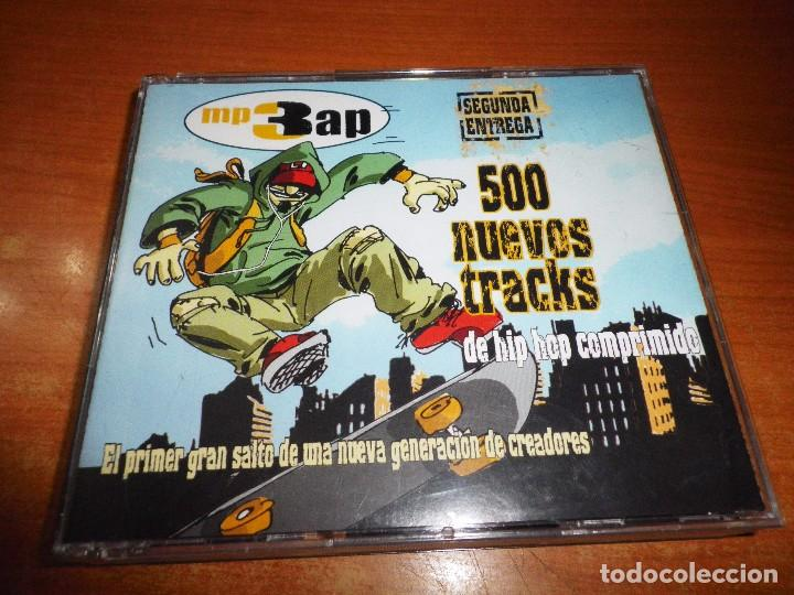 MP3 AP SEGUNDA ENTREGA CD TRIPLE SOLO PARA LECTORES DE MP3 500 TRACKS HIP HOP COMPRIMIDO 2005 (Música - CD's Hip hop)