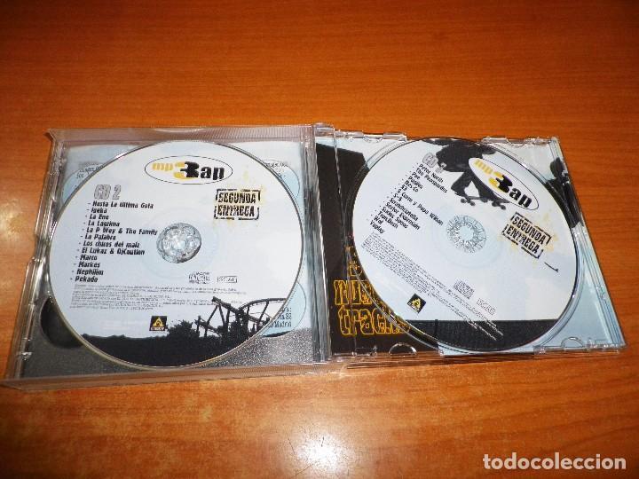 CDs de Música: MP3 AP SEGUNDA ENTREGA CD TRIPLE SOLO PARA LECTORES DE MP3 500 TRACKS HIP HOP COMPRIMIDO 2005 - Foto 3 - 87448896