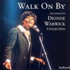 CDs de Música: DIONNE WARWICK - WALK ON BY (THE DEFINITIVE DIONNE WARWICK COLLECTION 2 CD - DIGITALLY REMASTERED). Lote 87455792