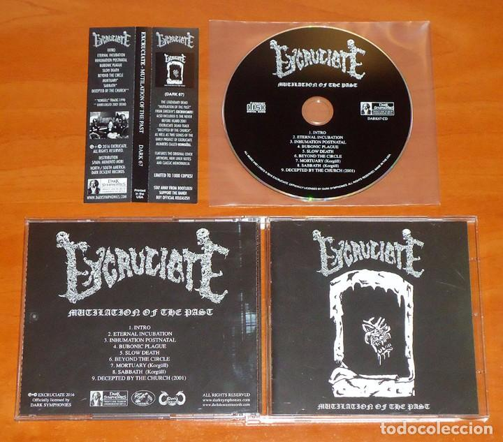 EXCRUCIATE - MUTILATION OF THE PAST - CD [DARK SYMPHONIES, 2016] (Música - CD's Heavy Metal)
