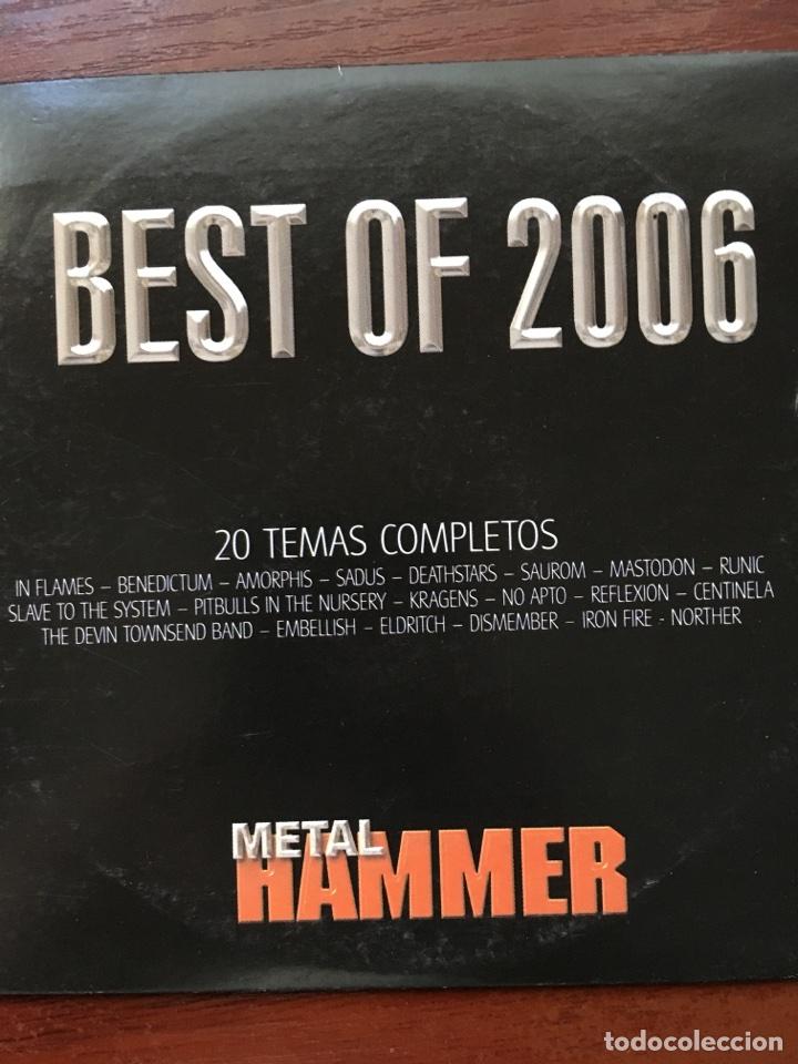 METAL HAMMER-BEST OF 2006-IN FLAMES,BENEDICTUM,ETC (Música - CD's Heavy Metal)