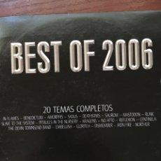 CDs de Música: METAL HAMMER-BEST OF 2006-IN FLAMES,BENEDICTUM,ETC. Lote 87484327
