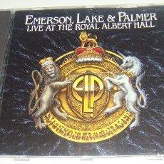 CDs de Música: CD - EMERSONLAKE & PALMER - LIVE AT THE ROYAL ALBERT HALL - EMERSON LAKE AND PALMER. Lote 87488264