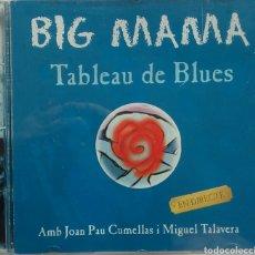 CDs de Música: BIG MAMA TABLEAU DE BLUES EN DIRECT. Lote 87519218