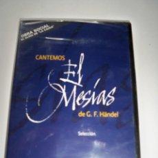 CDs de Música: EL MESIAS HANDEL DOCUMENTAL CATEDRAL MALLORCA PRECINTADO. Lote 87541132