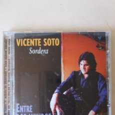 CDs de Música: CD VICENTE SOTO SORDERA ENTRE DOS MUNDOS. Lote 87552504