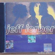 CDs de Música: JEFF LORBER - WEST SIDE STORIES (CD) 1994 - 11 TEMAS. Lote 87554048