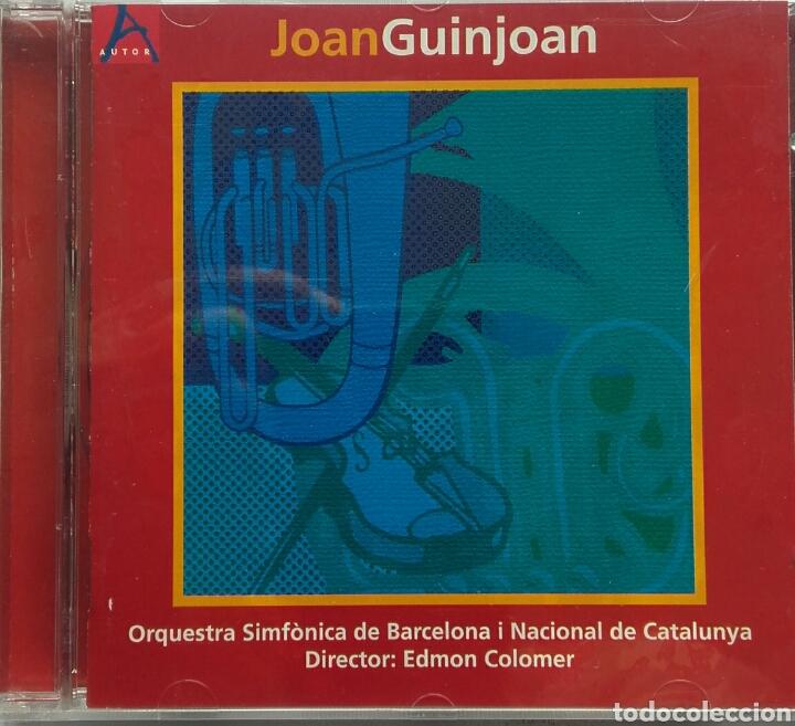 JOAN GUINJOAN ORQUESTA SINFONICA DE BARCELONA O NACIONAL DE CATALUNYA DIRECTOR: EDMON COLOMER (Música - CD's Clásica, Ópera, Zarzuela y Marchas)