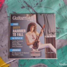 CDs de Música: QUEEN - REVISTA GUITARRISTA - LOTE DE 2 DISCOS - BRIAN MAY. Lote 87569532