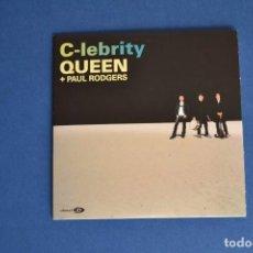 CDs de Música: QUEEN + PAUL RODGERS - CD SINGLE C-LEBRITY. Lote 87569628
