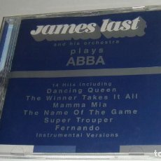 CDs de Música: CD - JAMEST LAST AND HIS ORCHESTRA - PLAYS ABBA - JAMEST LAST - ABBA -. Lote 88098156
