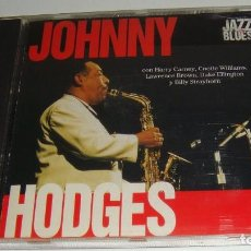 CDs de Música: CD- JOHNNY HODGES - CON HARRY CARNEY,COOTIE WILLIAMS,DUKE ELLINGTON,BILLY STRAYHORN,LAWRENCE BROWN. Lote 88106924