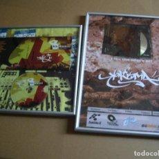 CDs de Música: LOTE DOS CUADROS PROMOCIONALES DE MUSICA HIP HOP-KARISMA Y ILL MUSIC. Lote 88117704