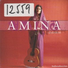 CDs de Música: AMINA / ALGO DE MI (CD SINGLE CARTON 2000). Lote 88148004