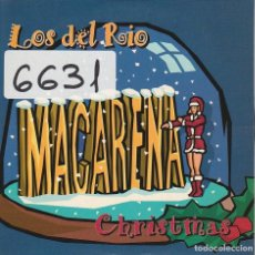 CDs de Música: LOS DEL RIO / MACARENA (CHRISTMAS) 2 VERSIONES / CD SINGLE CARTON 1996. Lote 88158308