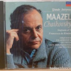 CDs de Música: LORIN MAAZEL - CHAIKOVSKY, SINFONIA NUM 5. Lote 88109524