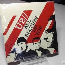 CDs de Música: CD - SINGLE - U2 - ALL BECAUSE OF YOU (PRECINTADO!) ( C5). Lote 88318292
