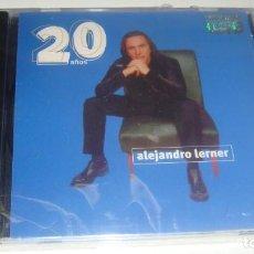 CDs de Música: CD - ALEJANDRO LERNER - 20 AÑOS - MADE IN VENEZUELA - NUEVO Y PRECINTADO. Lote 88327720