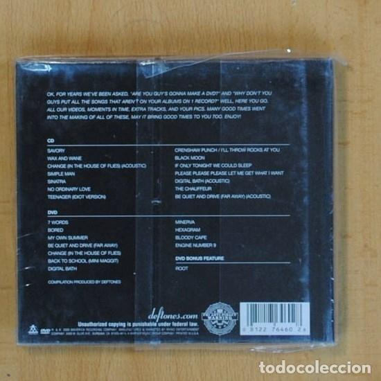 CDs de Música: DEFTONES - B SIDES & RARITIES - CD - Foto 2 - 88349226