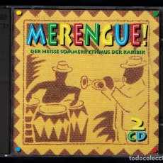 CDs de Música: MERENGUE (VARIOS INTÉRPRETES) 2 CDS. Lote 88350892