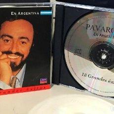 CDs de Música: CD ARGENTINO RECOPILATORIO DE LUCIANO PAVAROTTI AÑO 1999. Lote 88372488