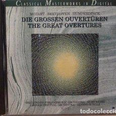 CDs de Música: MOZART - BEETHOVEN - HUMPERDINCK. Lote 88337962