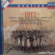 CDs de Música: TCHAIKOVSKY - 1812 CAPRICCHIO ITALIEN, ROMEO & JULIET MARCHE SLAVE. Lote 88337970