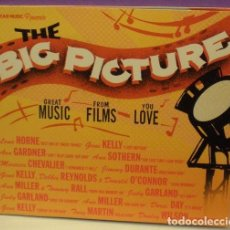 CDs de Música: THE BIG PICTURE - GREAT MUSIC FROM FILMS YOU LOVE - CD DIGIPACK. Lote 88422300