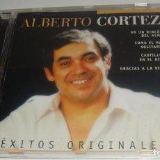 CDs de Música: CD - ALBERTO CORTEZ - EXITOS ORIGINALES - ALBERTO CORTEZ. Lote 88453504