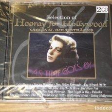 CDs de Música: SELECTION OF HOORAY FOR HOLLYWOOD, PRECINTADO, BSO, BANDA SONORA, DOBLE CD ERCOM. Lote 88566976