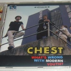 CDs de Música: CD - CHEST - WHAT'S WRONG WITH MODERN YOUTH ? - CHEST. Lote 88612044