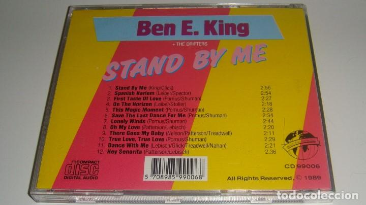 CDs de Música: CD - BEN E. KING - STAND BY ME - BEN E KING + THE DRIFTERS - - Foto 2 - 88757756