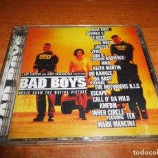 CDs de Música: BAD BOYS BANDA SONORA DOS POLICIAS REBELDES CD ALBUM 1995 AUSTRIA BOYZ BABYFACE K-NOK 16 TEMAS. Lote 221749503