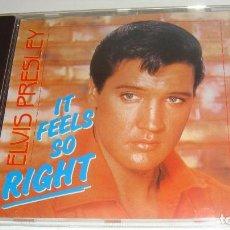 CDs de Música: CD - ELVIS PRESLEY - IT FEELS SO RIGHT - PRESLEY. Lote 88786760