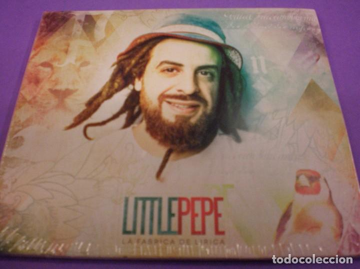 LITTLE PEPE - LA FÁBRICA DE LÍRICA - CD PRECINTADO. (Música - CD's Reggae)