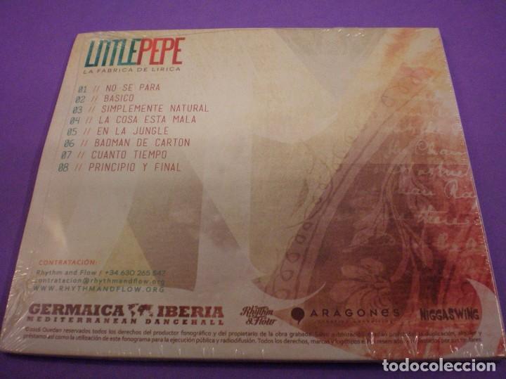 CDs de Música: Little Pepe - La Fábrica de Lírica - CD Precintado. - Foto 2 - 185226403