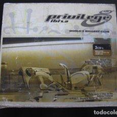 CDs de Música: PRIVILEGE IBIZA 3CDS. Lote 88838364