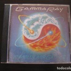 CDs de Música: GAMMA RAY - INSANITY AND GENIUS. Lote 88838532