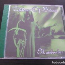 CDs de Música: CHILDREN OF BODOM - HATEBREEDER. Lote 88839468