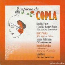 CDs de Música: SUSPIROS DE COPLA (VARIOS) CD SINGLE CARTON PROMO 5 TEMAS). Lote 263661780