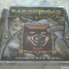 CDs de Música: BARON ROJO-NOCHES DE ROCK & ROLL. HEAVY METAL ESPAÑOL. Lote 88885812