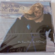 CDs de Música: CD SINGLE PROMOCIONAL RITCHIE BLACKMORE'S NIGHT. THE TIME THEY ARE A CHANGIN'. SIN DESPRECINTAR 2001. Lote 88896530