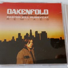 CDs de Música: CD PROMOCIONAL OAKENFOLD FEATURING BRITTANY MURPHY FASTER KILL PUSSICAT REMIXES. 2006. Lote 88897126